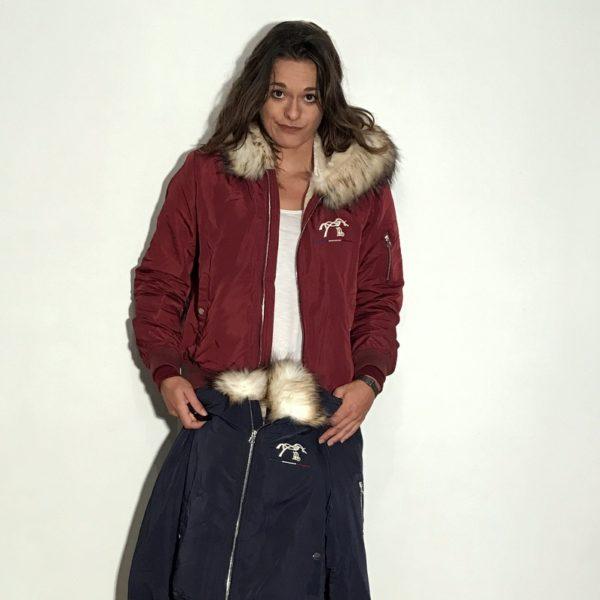 Bombers Prune Lyon Penelope Leprevost La P Tite Sellerie