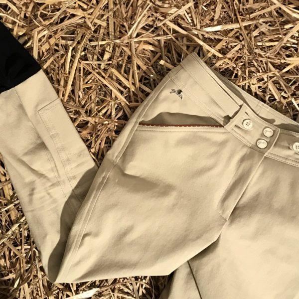 """Pantalon d'équitation Beige - """"Point Sellier"""" - Pénélope Leprévost"""
