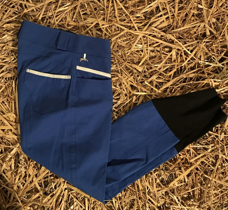 "Pantalon d'équitation Bleu - ""LUREX"" - Pénélope Leprévost"