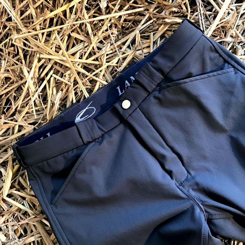 Pantalon d'équitation Bleu - Extra Grip- Lamicell